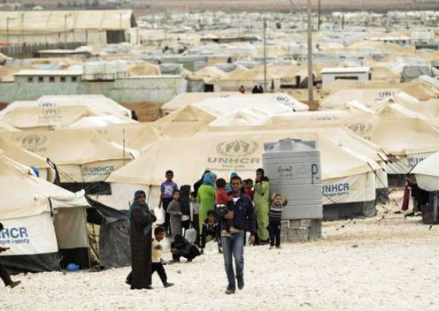 campamentos de refugiados sirios