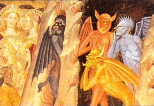 diablos de Andrea di Bonaiuto