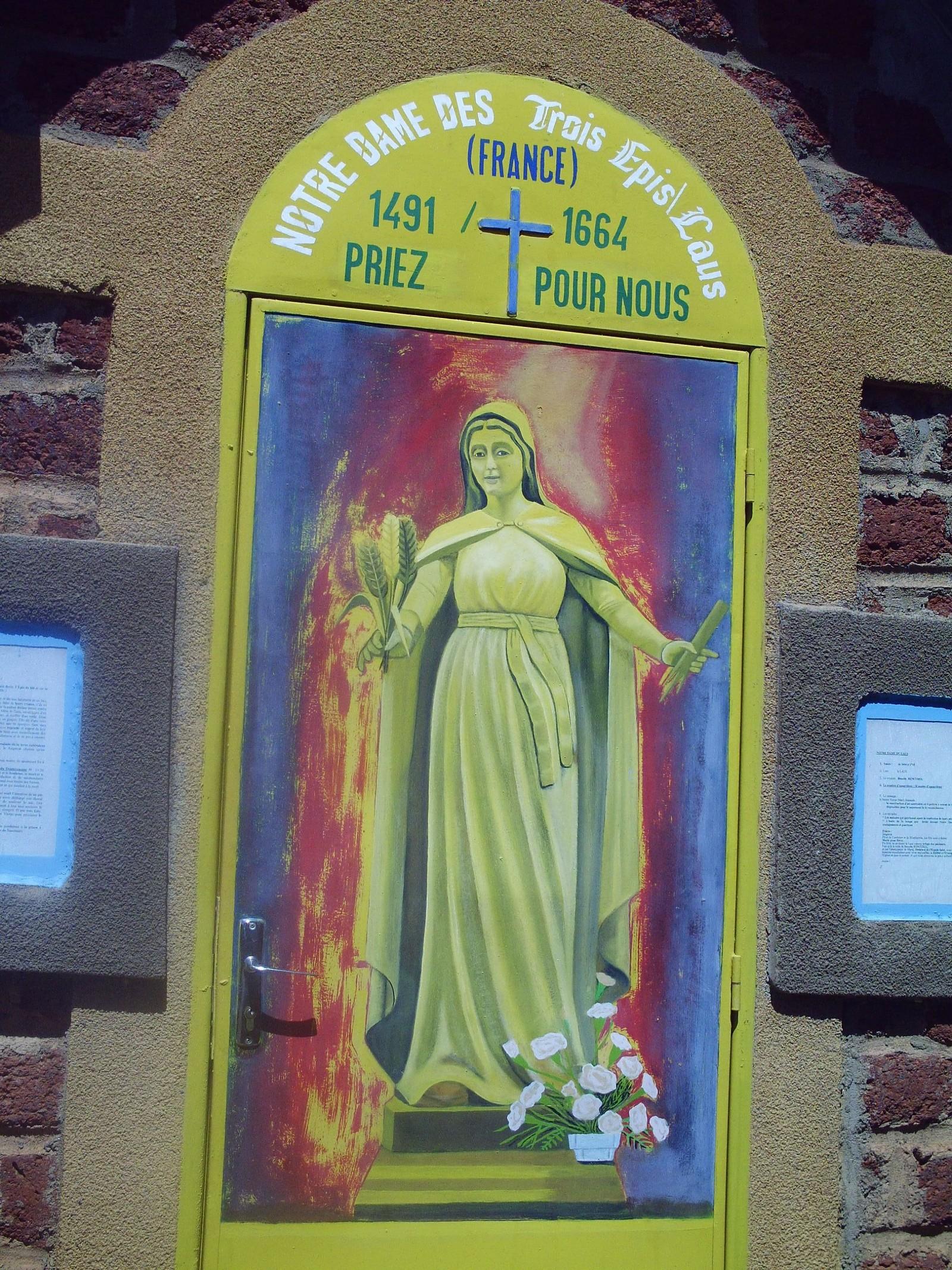 Aparición llama a la Conversión: Nuestra Señora de las Tres Espigas, Francia (14 de septiembre)