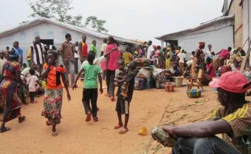 refugiados de centroafricana