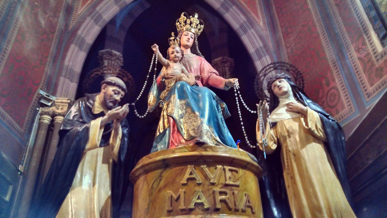 Nuestra Señora del Rosario de Pompeya, la Lourdes italiana (7 oct, 8 may)