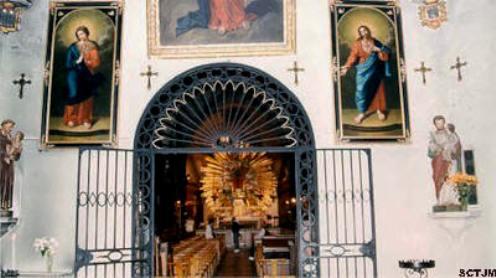 capilla de la santa cruz milagro de avignon