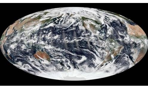 imagen satelital del clima el 8 de septiembre 2013