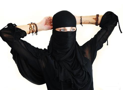 mujeres occidentales en la jihad