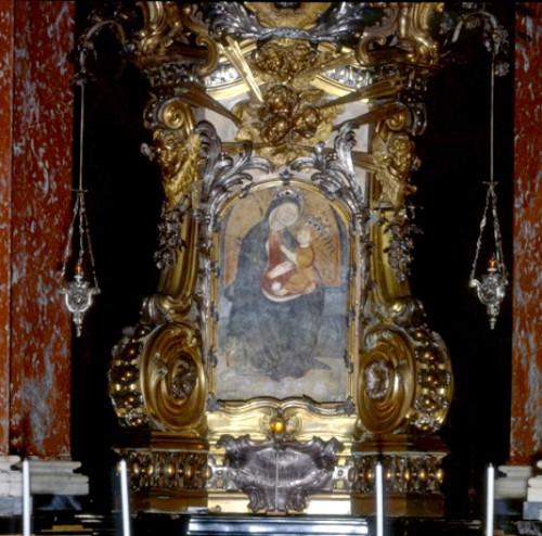 pintura original de la madonna de mondovi