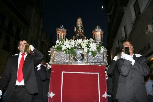 procesion de las antorchas de begoña