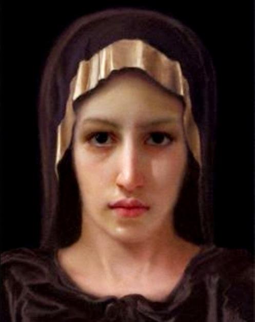 rostro de maria