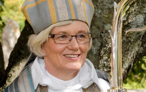 Antje Jackelén Arzobispo Luterano de Suecia