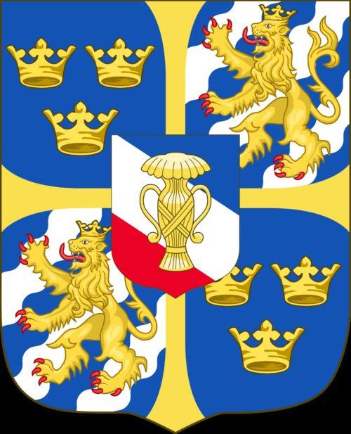 Escudo de armas de la Casa Vasa de Suecia
