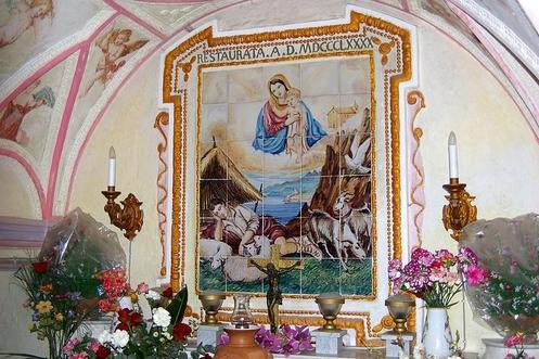 Maria_Santissima_Avvocata_sopra_Maiori la gruta