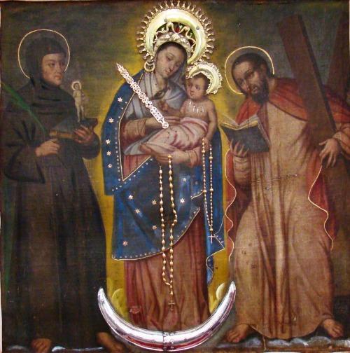 Virgen del Rosario de Chiquinquira