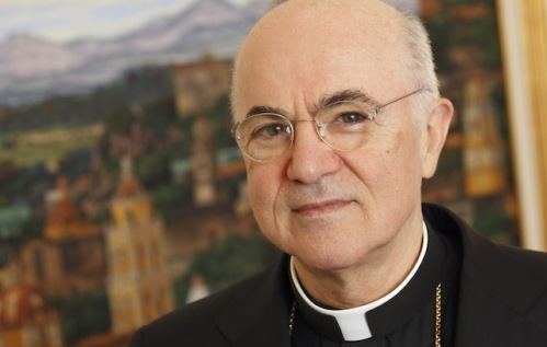 Italian Archbishop Carlo Maria Vigano, the new apostolic nuncio to the United States