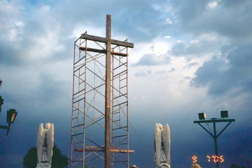 construccion de una cruz de dozule