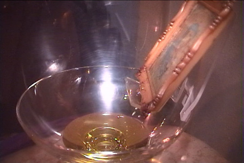 cuadro exhudando aceite