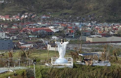 estatua de jesucristo en filipinas