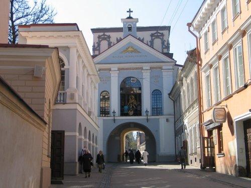 iglesia de ostra brama