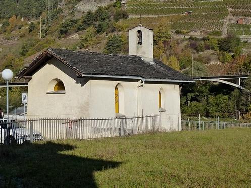 iglesia de sembrancher