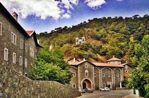 monasterio de kikkos