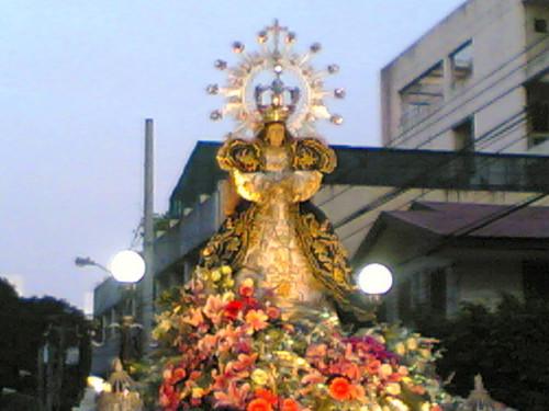 procesion de nuestra senora de los remedios de malate