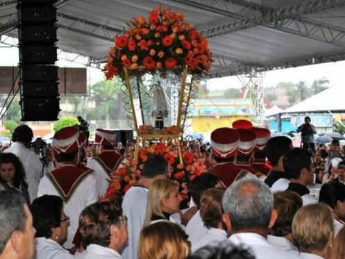 procesion del rocio de parana