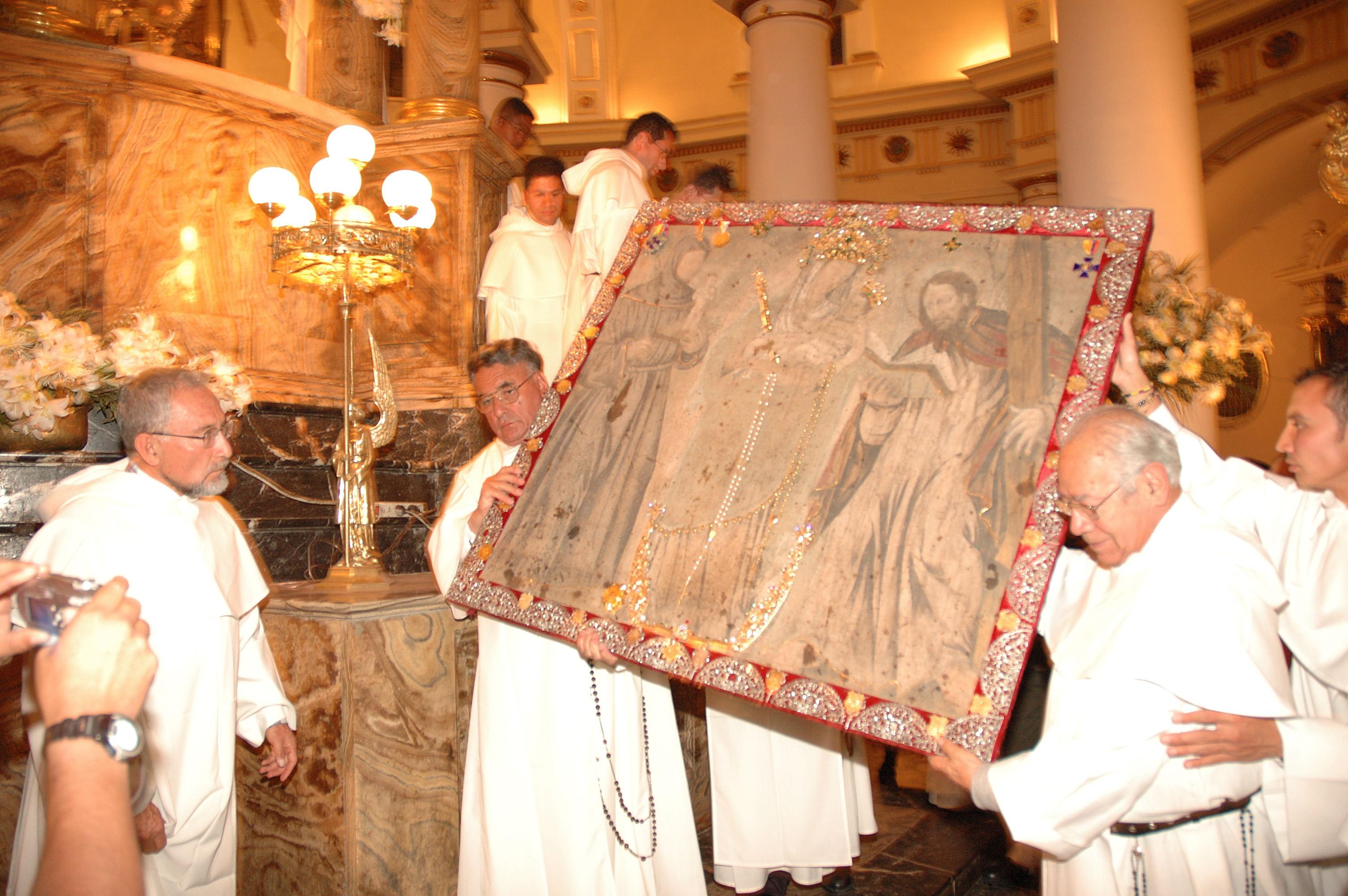 Nuestra Señora de Chiquinquira, Aparición en una Tabla, Venezuela (18 nov)