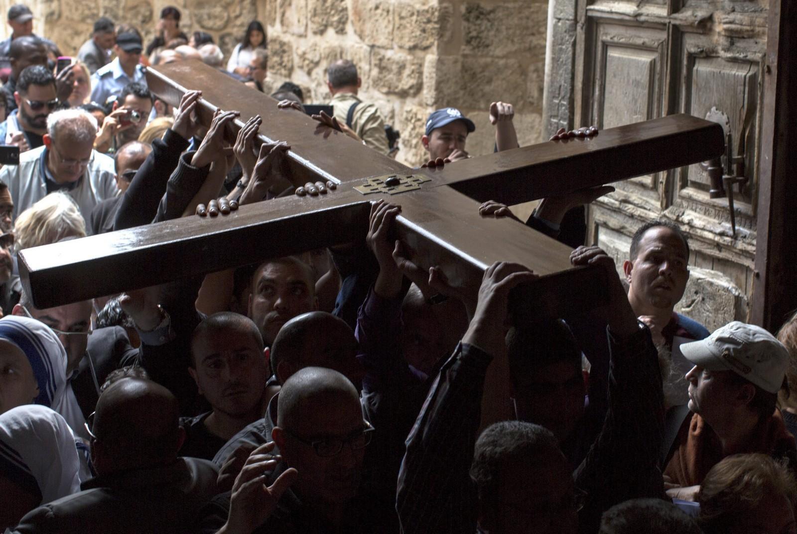 via crucis jerusalen fondo