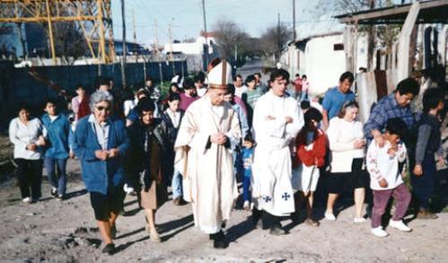 Bergoglio y pobres