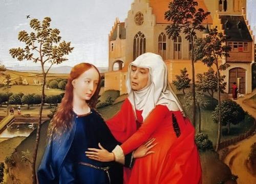 LA-VISITACION-A-SANTA-ISABEL-Rogier-van-der-Weyden-1435