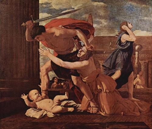 Masacre-de-los-Inocentes Nicolás Poussin