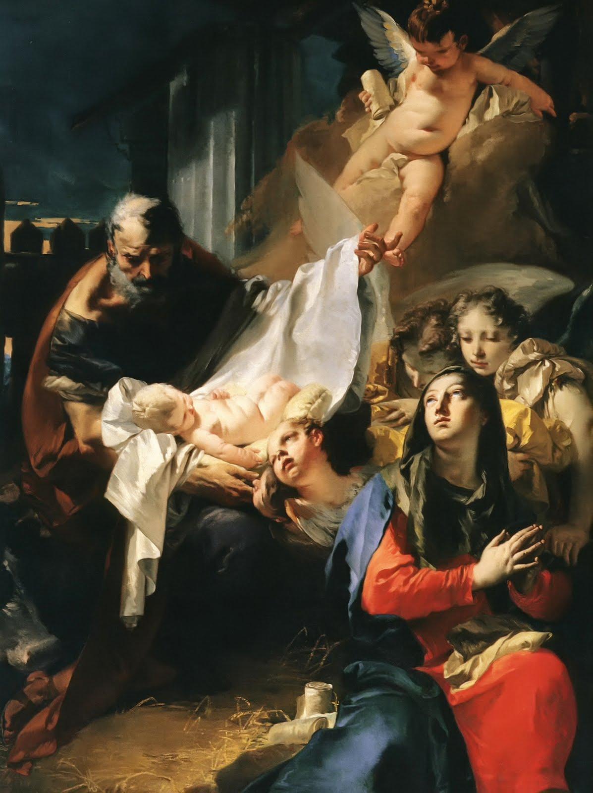 Una visión de catalina Emmerich: Los Maravillosos Acontecimientos en el Orbe cuando el Nacimiento de Jesús