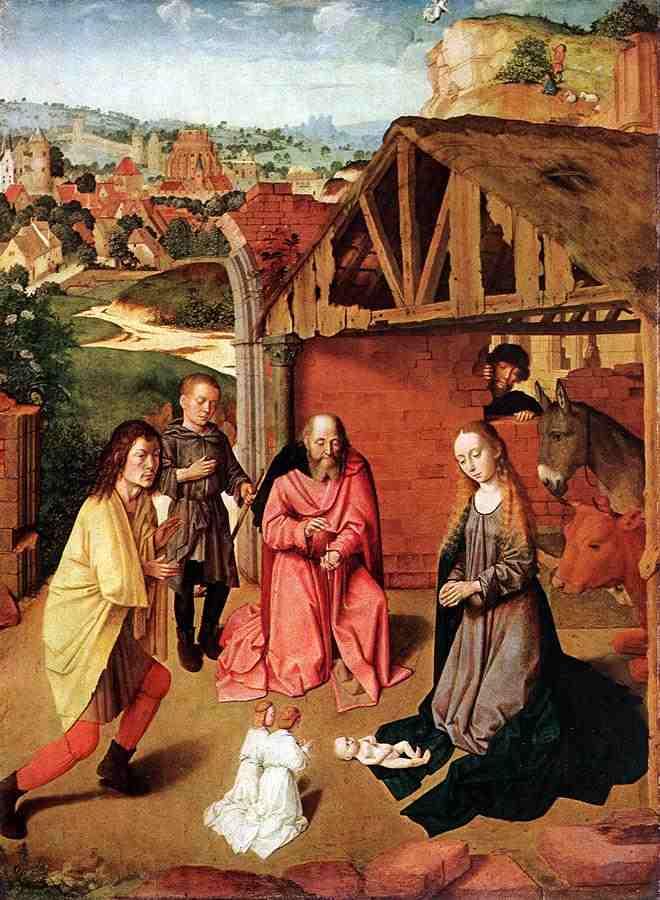 María Cuenta a los Videntes el Nacimiento de Jesús