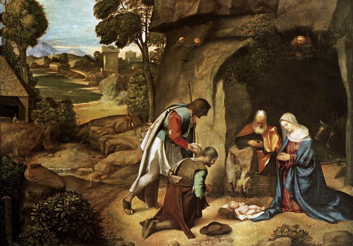 adoracion de los pastores en navidad