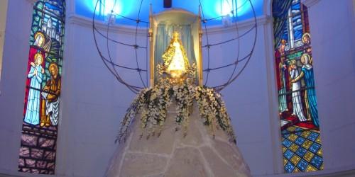 altar de basilica de caacupe fondo