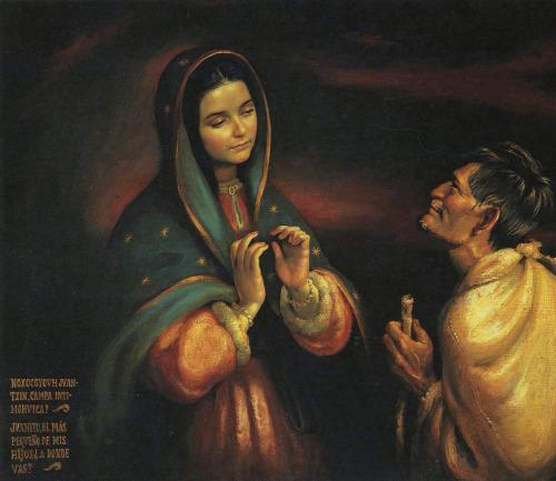aparcion de maria a juan diego