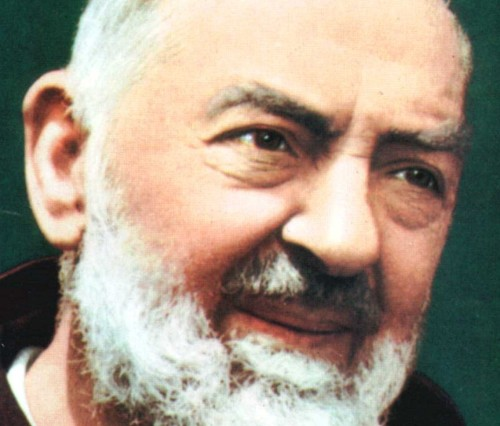 face of the father pio
