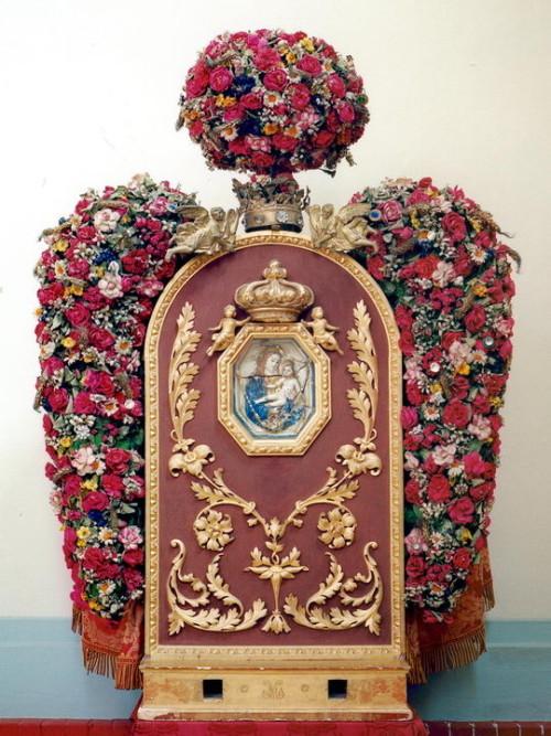 cuadro de la madonna di piumazzo