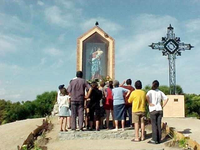 Nuestra Señora del Rosario del Colla, derramó una Lágrima, Uruguay (8 dic)
