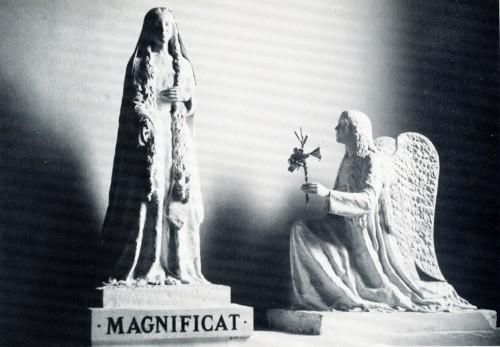 estatua de ns de la oracion