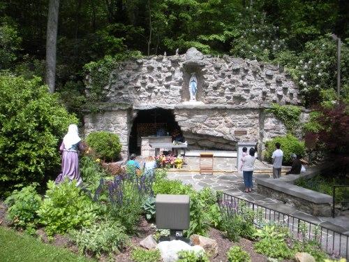gruta de lourdes de emmitsburg