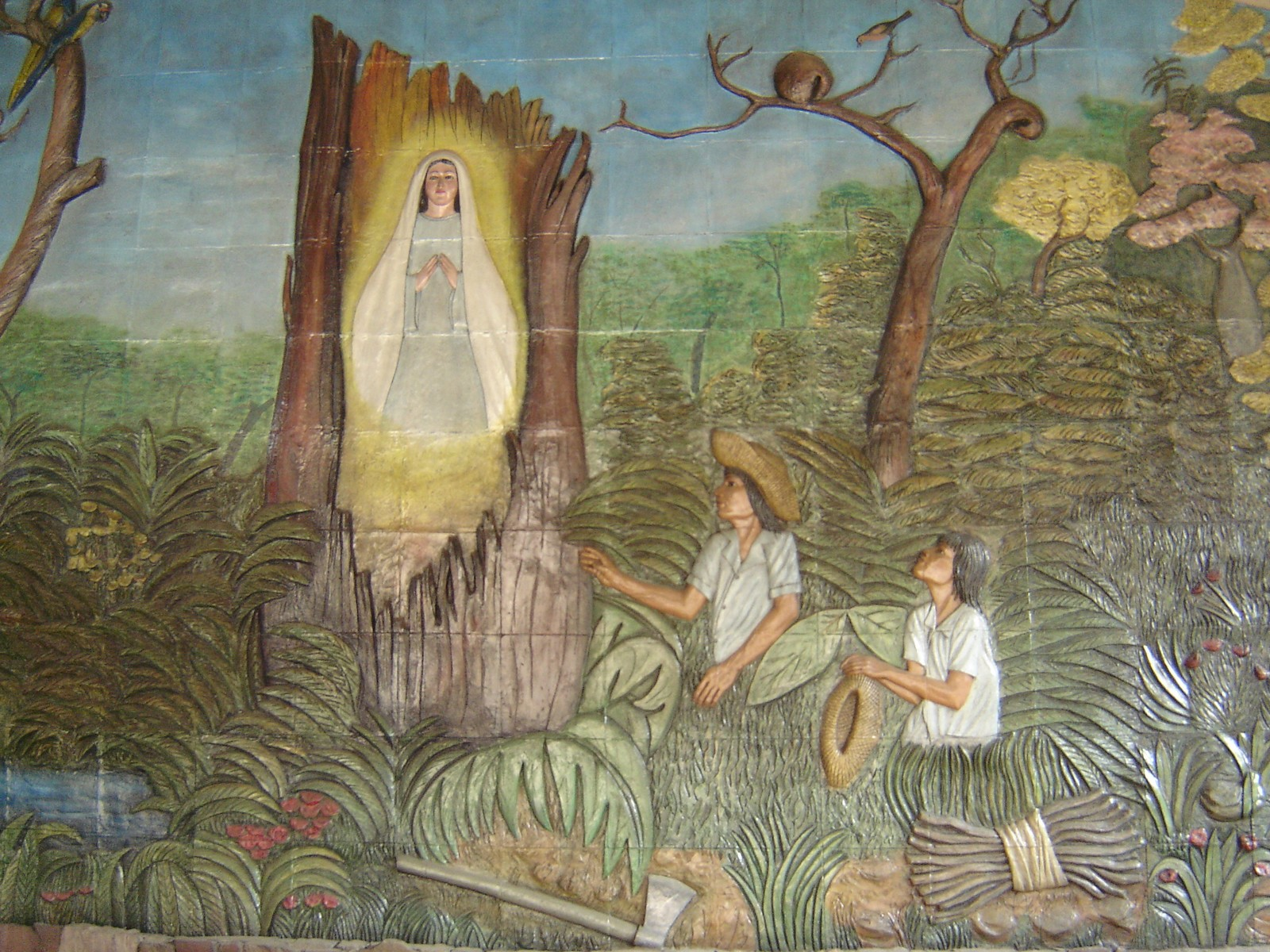Virgen de Cotoca, Hallada en un Tronco de un Árbol, Bolivia (8 dic)