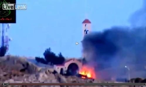 Islamistas atacan estatua gigante de Jesús y Gran Muftí Saudí dice que terroristas irán al infierno
