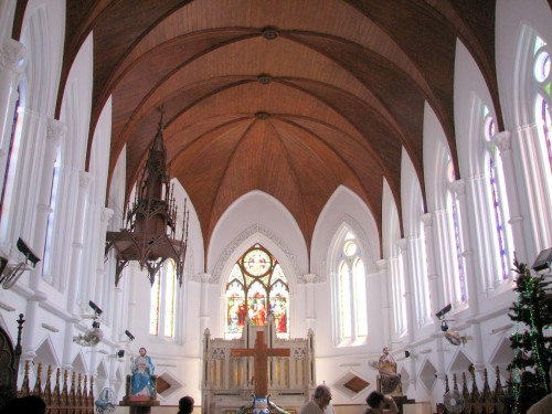 Chennai - interior of Santhome Church