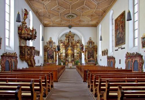 interior de Maria in der Tanne fondo