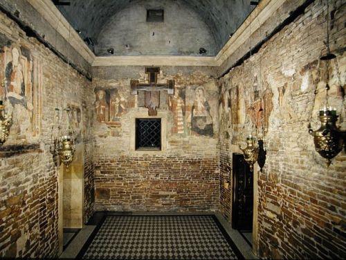 interior de la casa de loreto