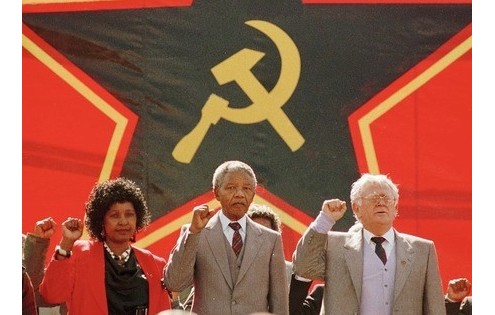 mandela comunista