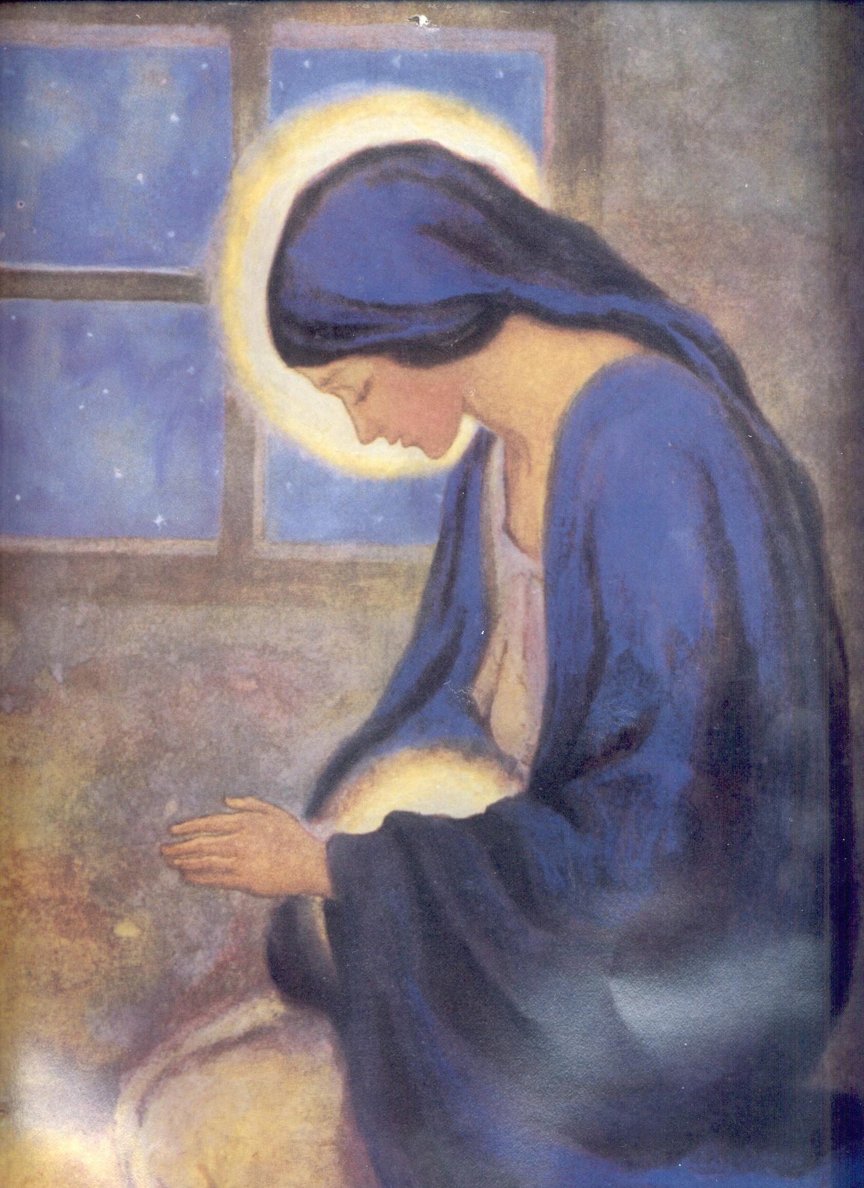 Visión de Catalina Emmerich del Arribo de María y José a la Gruta de ...