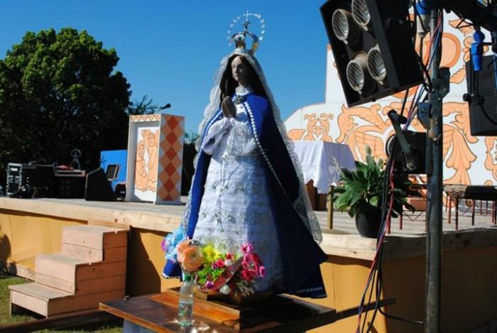 Fenómeno en el interior de Uruguay: Virgen de Itatí de Villa Ansina, (jul y 2º dic)