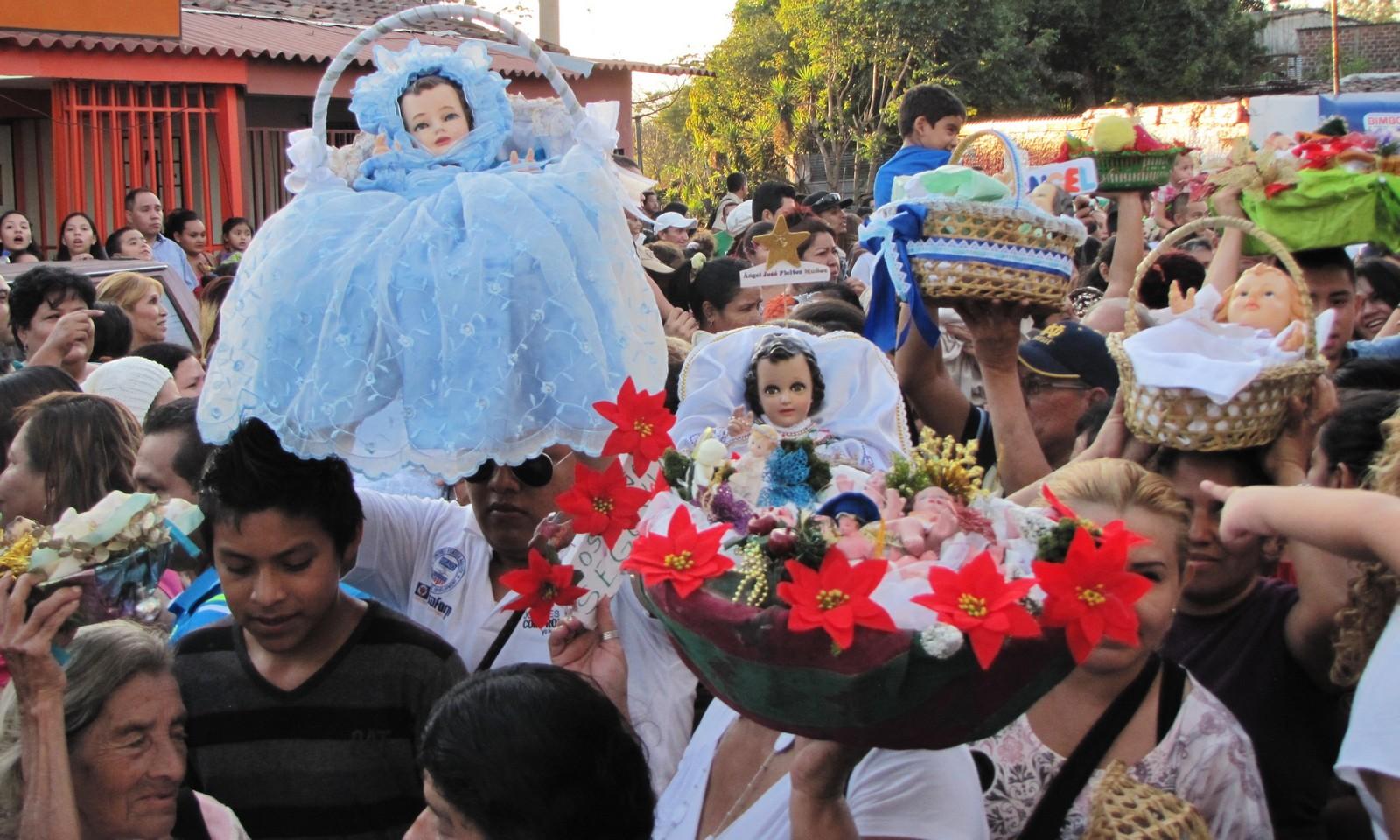 Gran Devoción Popular: Santos Inocentes de Antiguo Cuscatlán, El Salvador (28 dic)
