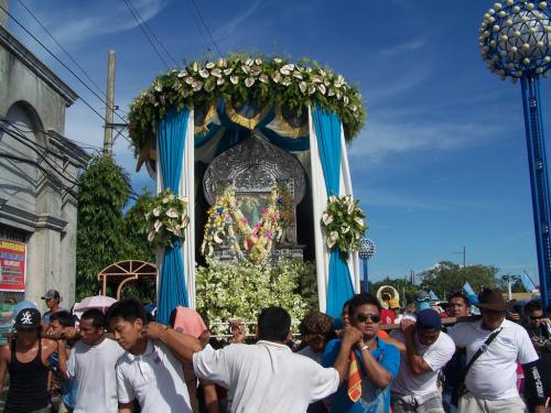 procesion ns de agua santa
