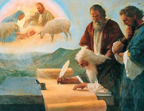 profeta isaias escribiendo
